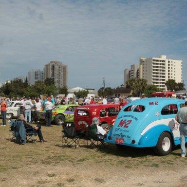 Living Legends of Auto Racing 2012 Beach Side Parade