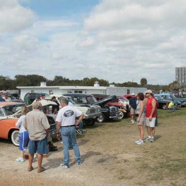 Living Legends of Auto Racing 2012 Beach Side Parade