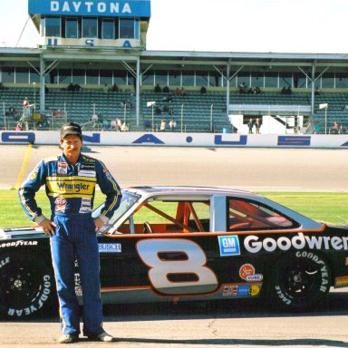 Dale Earnhardt #8 Chevy Nova in 1987