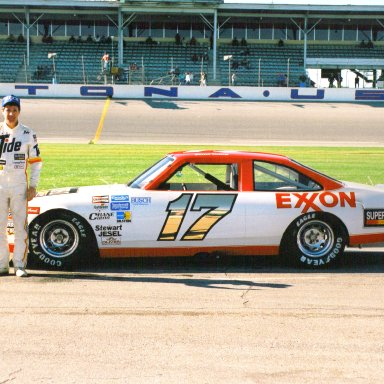 Darrel Waltrip #17 In 1987