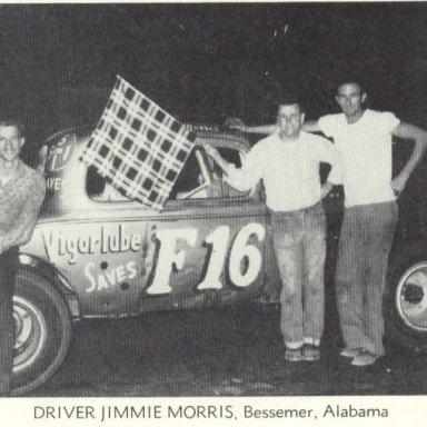 Jimmy Morris at Sayre Speedway
