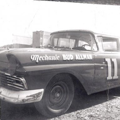 Bud Allman 's Car That was Fireballs