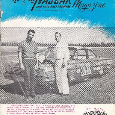 Bud Allman Number 11 with Ned Jarrett