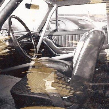 Bud Allman      Inside 1960 Ford # 11