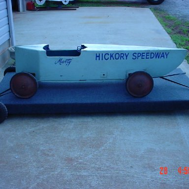 Hickory Speedway Soap Box Derby