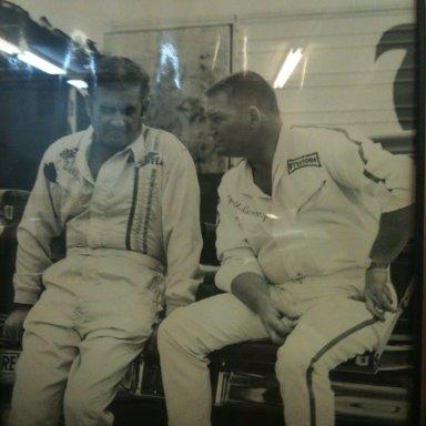 Harold Dunaway and Buck Baker