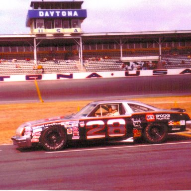 Buddy Baker 1980 #28 Napa Olds 88