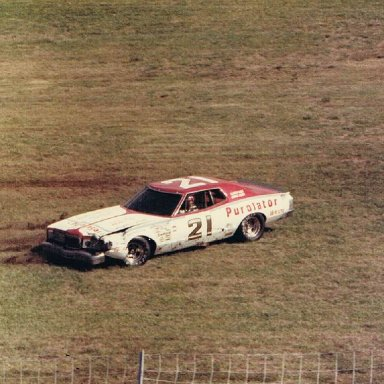David Pearson  at Charlotte Motor Speedway