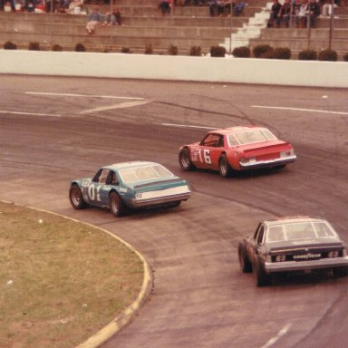 Action at Martinsville