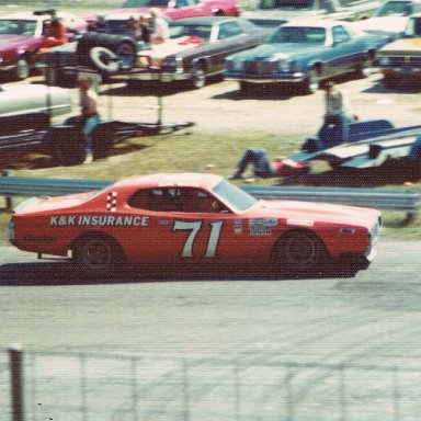 Dave Marcis in the K&K Dodge
