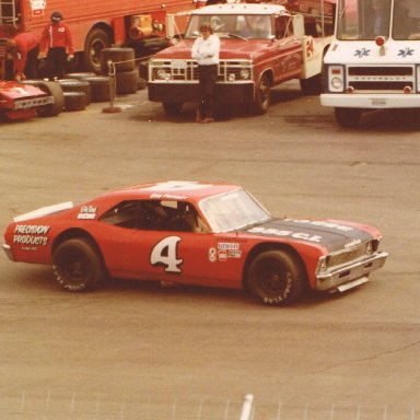 Bob Pressley at Martinsville
