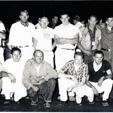 Tunis Speedway drivers--circa early 1950s