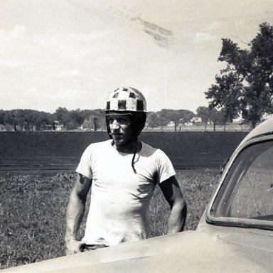 Driver Jack Hickman--1952