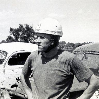 Driver Bob Ledjte, Gladbrook, Iowa--1952