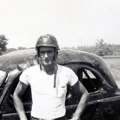Driver Arnie Spore--1952
