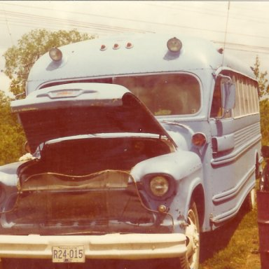 Race Bus mid '70's
