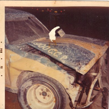Opel after wall @ Memorial Stadium 1972