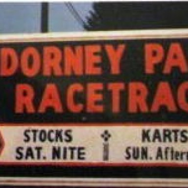 Dorney Park Racetrack sign