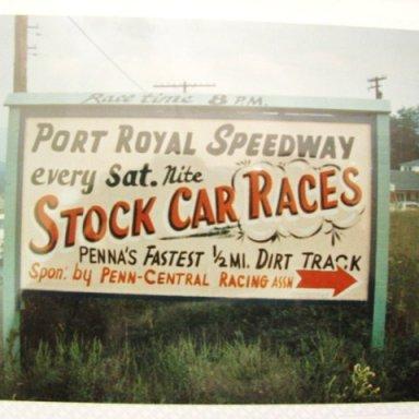 stock car races Port Royal Speedway