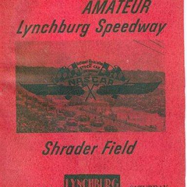 Shrader Field or Lynchburg Speedway