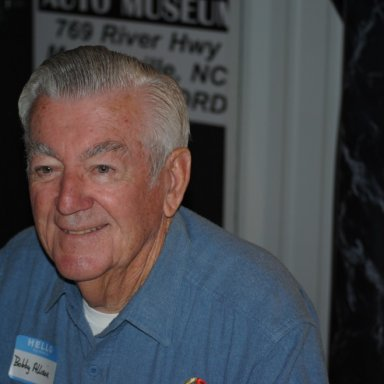 Bobby Allison Honors Bud Moore
