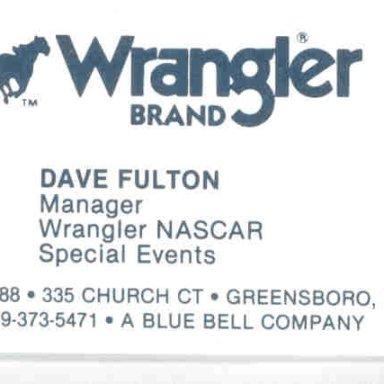Wrangler NASCAR