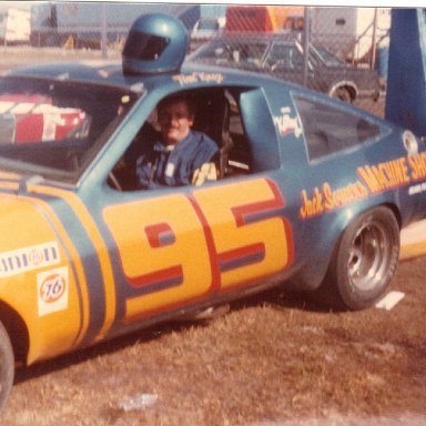 Tommy Knox after 1983 Dash race @ Daytona
