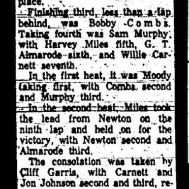 Newton Wins.