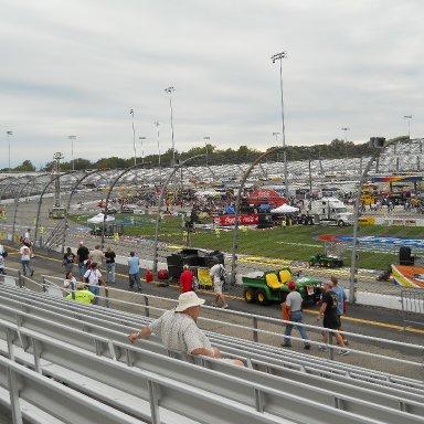 Richmond Raceway Stands filling up