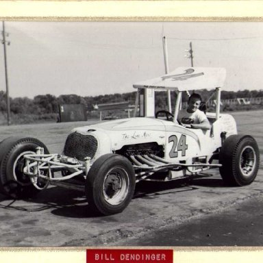 Lone Merc 24 Bill Dendinger by Ray Rogers
