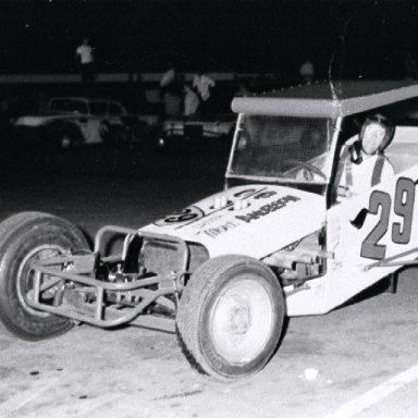 Mort Anderson - Greenville MI in Car #29