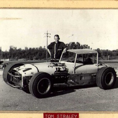 Tom Straley at Speedrome by Ray Rogers
