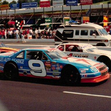 Ronnie Thomas Martinsville Speedway September 21, 1991