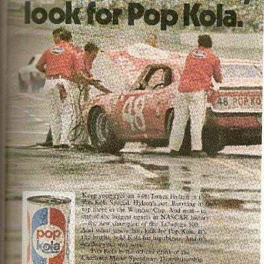 Who remembers Pop Kola?