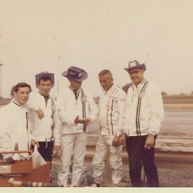 """Filming the movie """"Winning"""" at IRP 1968"""