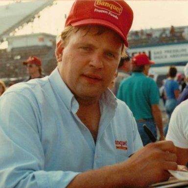 Jimmy Spencer 9-22-91 Martinsville, VA.