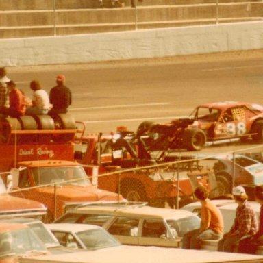 Martinsville Speedway 10-30-78  Jerry Cook