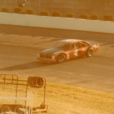 Martinsville Speedway 10-30-78  Bob Pressley