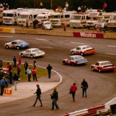 Northwestern Bank 400, North Wilkesboro Speedway, April 8, 1984