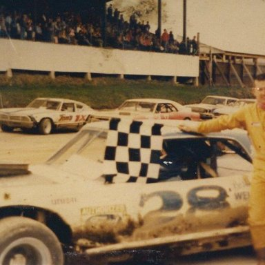 Feature winner Bill Roese @ Brookfield Speedway (NY)