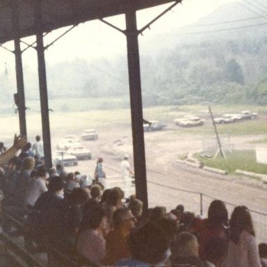 Late 70's action @ Brookfield Speedway (NY)