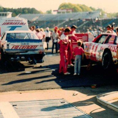 Pannill Sweatshirts 500, Martinsville Speedway, April 24, 1988