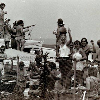 Talladega crowd