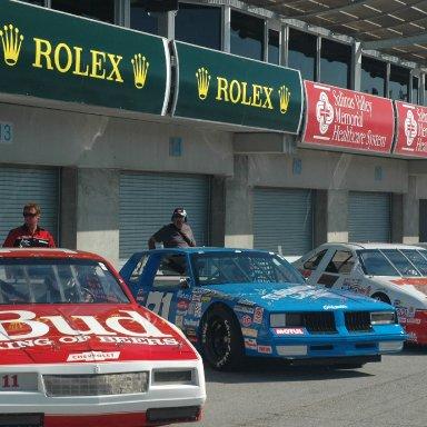 rolex 2012 - cold pit lineup