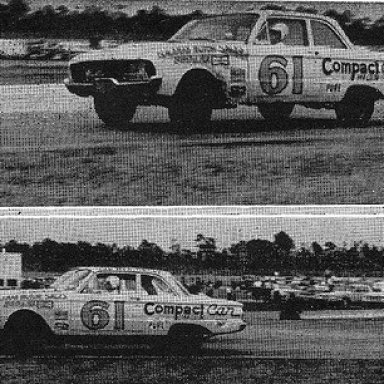 Daytona compact - Joe Weatherly