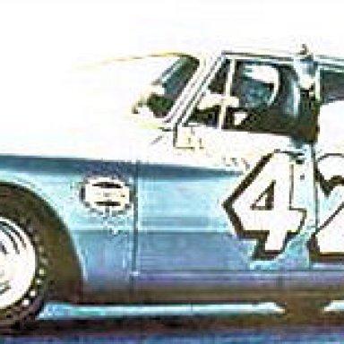 Daytona compact - Lee Petty