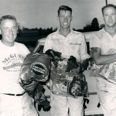 Rex White, Glen Wood and Jim Reed