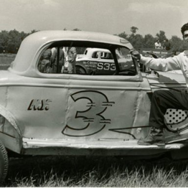 Bob Motts 34 ford coupe in the 50's