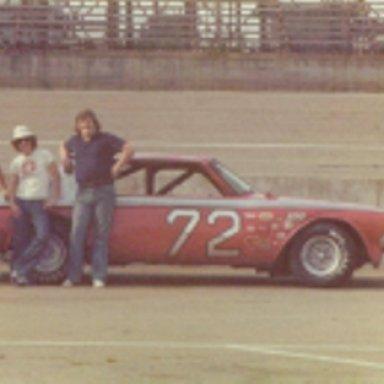 Plymouth Race Car  72
