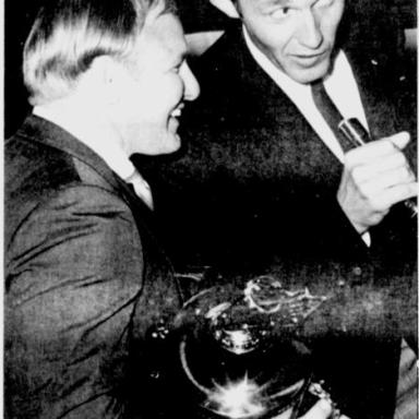 1968 NASCAR Awards Richard and Cale